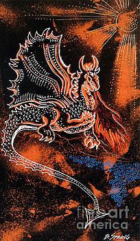 Dragon Warming Water by Bonnie Sprung