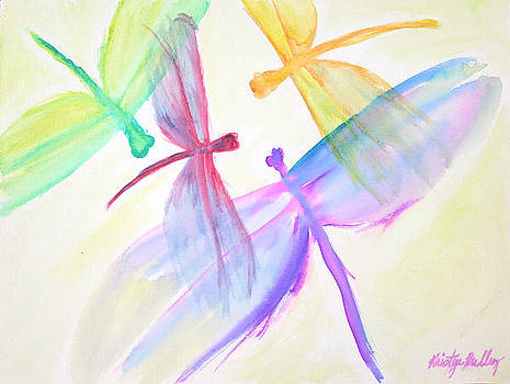 Dragonfly Family by Kristye Addison Dudley