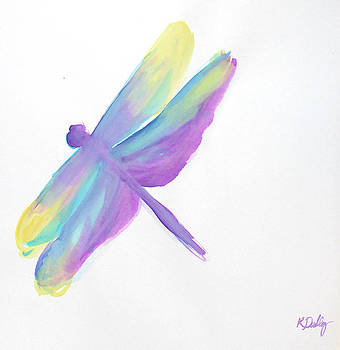 Dragonfly in Flight by Kristye Addison Dudley