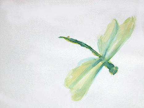 Dragonfly in Green by Kristye Addison Dudley