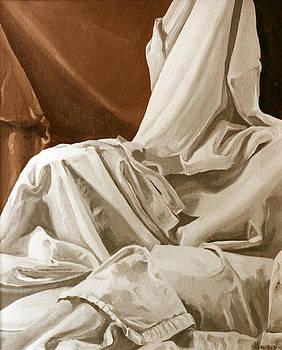Drapery Still Life Study by Jill Roberts