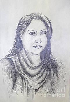 Drawing-02 by Sayeed Iqbal