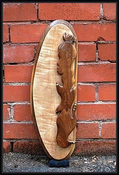 Dready Walnut Mon   by Steve Weber