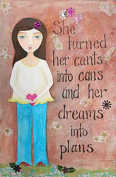 Dreams into Plans by Brandy Gerber