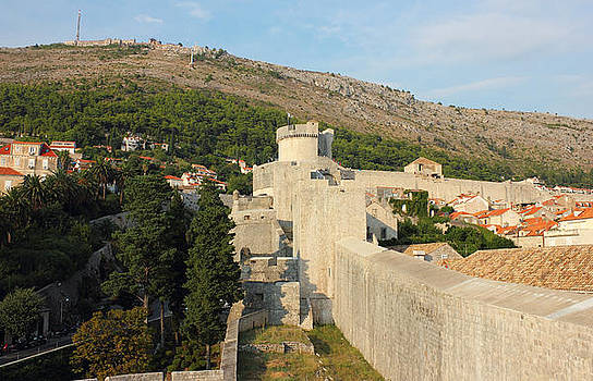 Dubrovnik Fortress Wall of Old Town by Kiril Stanchev