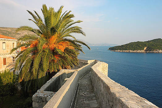 Dubrovnik Fortress Wall Seaview by Kiril Stanchev