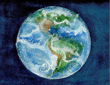 Earth View by Elle Smith Fagan