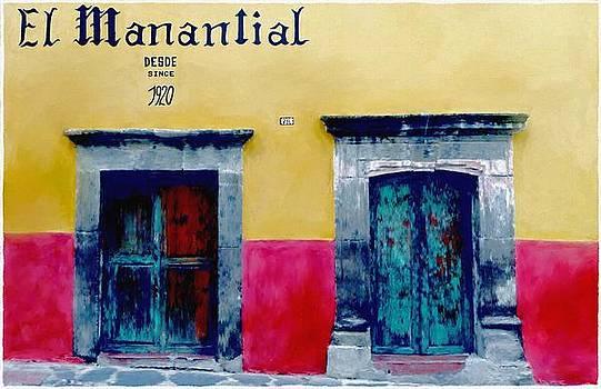 El Mananlial by Britton Britt Cagle