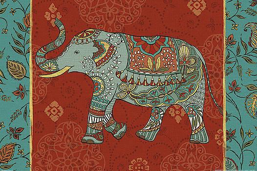 Elephant Caravan Iim by Daphne Brissonnet