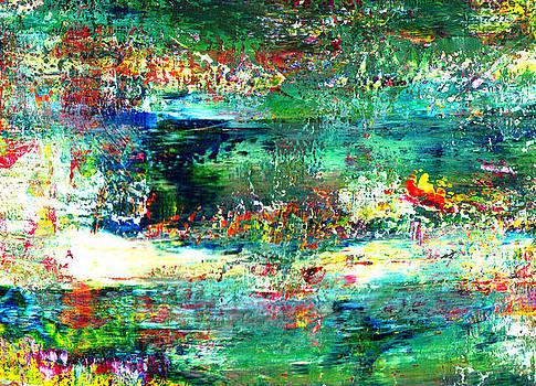 Enchanted Pond by Christine Minnee