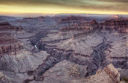 End Day Canyon by Michael Misciagno