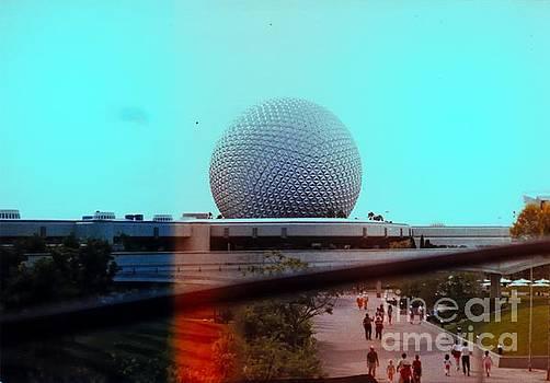 Epcot Center Globe 1 by Andres LaBrada