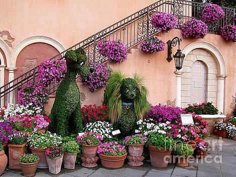 Epcot's Flower and Garden Festival by Irina Gladkaja