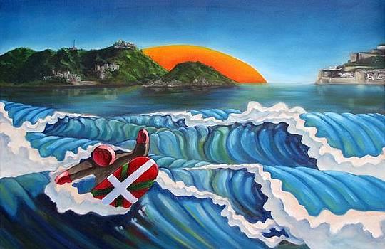 Euskadi Surfer by Olivier Longuet
