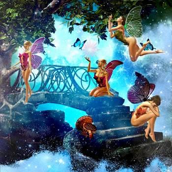 Fairy Paradise by Amanda Struz