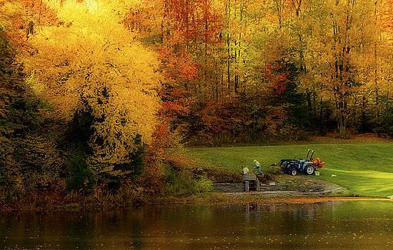 Fall Planting by David Simons