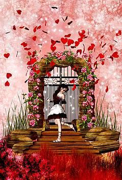 Fantasy Valentine Girl by Amanda Struz