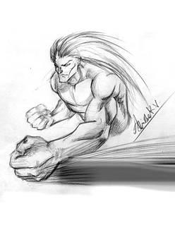 Fighter by Abhishek Vishwakarma