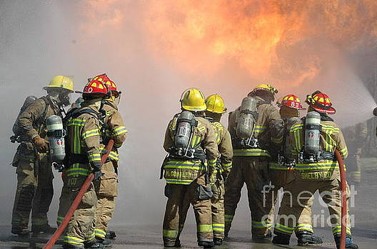Fire Training  by Steven Townsend