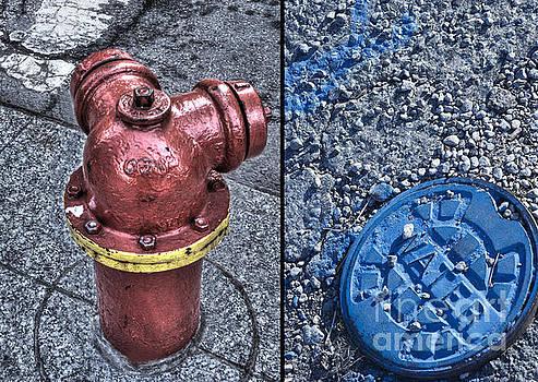 Fireplug/water Cap by Jim Wright