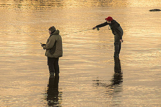 Fishing by Tage Persson