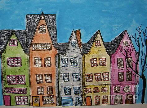 Five In A Row by Marcia Weller-Wenbert