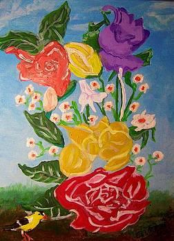 Flowers Gone Wild by Ann Whitfield