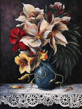 Flowers In Vase by Rita Miller