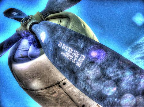 Blue Prop by Galen Hazelhofer