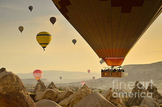 Flying with the fairies 2 - Cappadocia Turkey by OUAP Photography