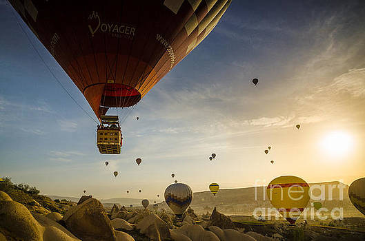 Flying with the fairies - Cappadocia Turkey by OUAP Photography