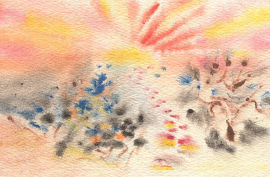 Follow the Sun by Jelena Sulamanidze