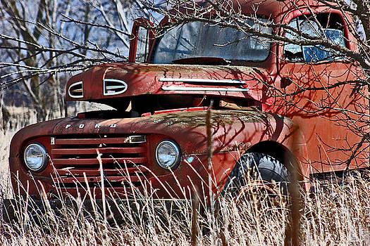 Ford Truck  by Jon Baldwin  Art