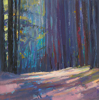 Forest Light by Ed Chesnovitch