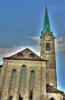 Fraumunster Church by Ines Bolasini