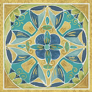 Free Bird Mexican Tiles Iii by Daphne Brissonnet