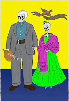 Frida Diego by Britton Britt Cagle