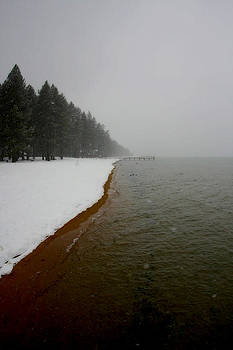 Frozen Coastline by Kyle Simpson
