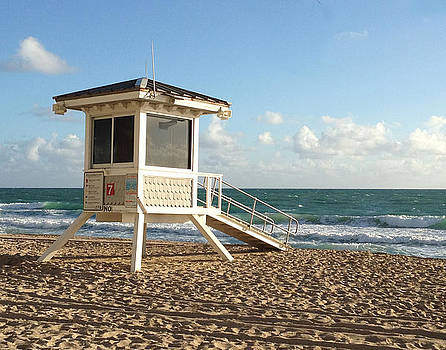 Ft. Lauderdale Lifeguard by Rosie Brown