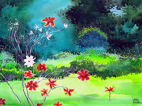 Garden Magic by Anil Nene