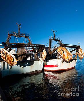 Garrucha Harbour by Tony Unwin