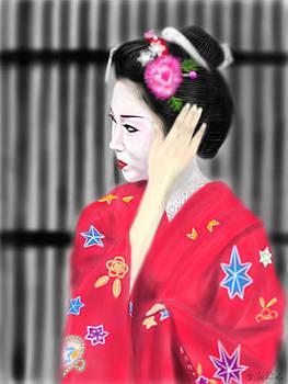 Geisha No.51 by Yoshiyuki Uchida