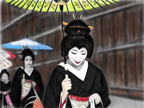Geisha No.54 by Yoshiyuki Uchida