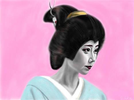 Geisha No.55 by Yoshiyuki Uchida