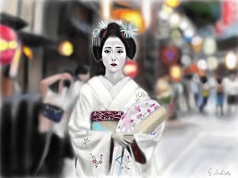 Geisha No.61 by Yoshiyuki Uchida