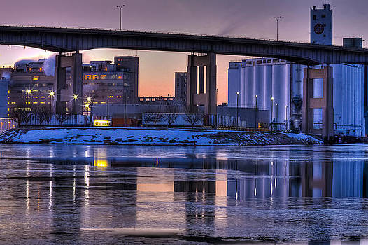 General Mills From the River by Don Nieman