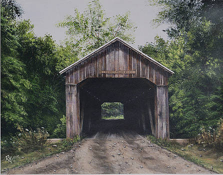 George Miller Covered Bridge Brown County Ohio by Rita Miller