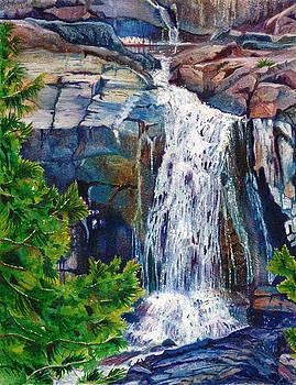Glen Alpine Creek Falls by Sandi Howell