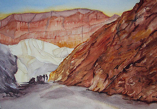 Golden Canyon and Red Cathedral by Lynne Bolwell