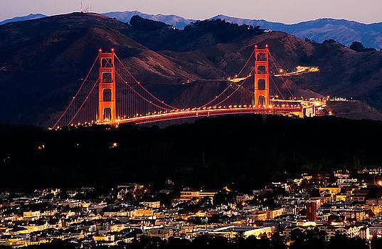 Golden Gate Sunrise by Kyle Simpson